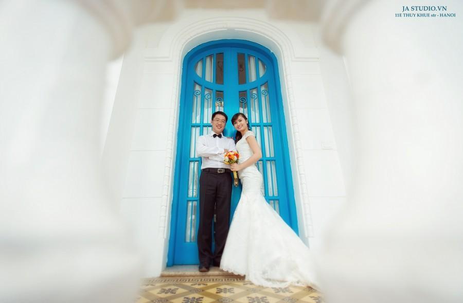 Wedding - Ảnh cưới Hà Nội - L'ouest Café ( JA Studio - 11E Thụy Khuê )