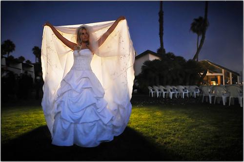 Mariage - Mariée à jabot