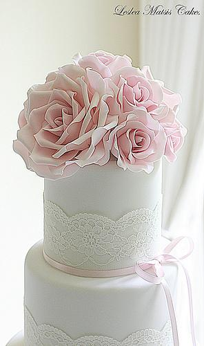 Mariage - Roses roses