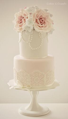 Wedding - Two Tier Cake