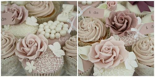 Vintage Wedding Dusky Pink Vintage Cupcakes 1987600 Weddbook