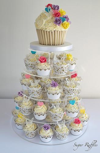 Hochzeits Cupcakes Hochzeits Kuchen Turm 1987651 Weddbook