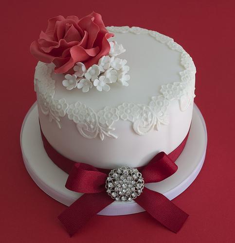 Ruby Anniversary Cake Images : Torte Di Nozze - Torta Di Ruby Anniversario Di Matrimonio ...