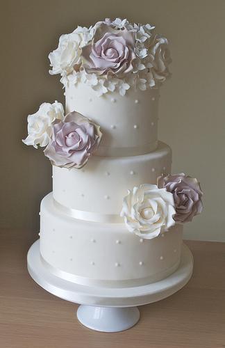 Peach Wedding Cake Boxes