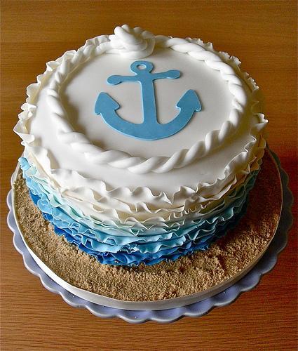 Wedding - Anchor Cake