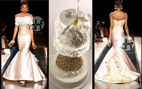 Wedding - Kosibah Inspired Cake