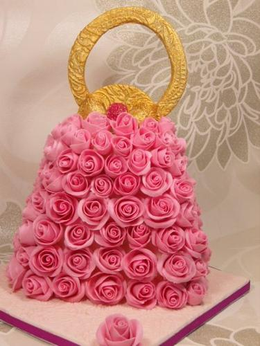 Wedding - Rose Hand Bag