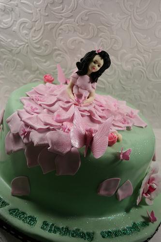 زفاف - حورية كعكة عيد ميلاد للحصول على 40TH