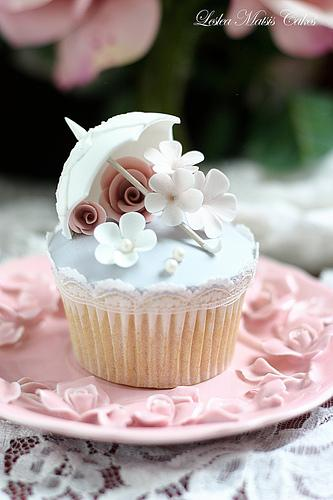 Mariage - Vintage Parasol gâteau