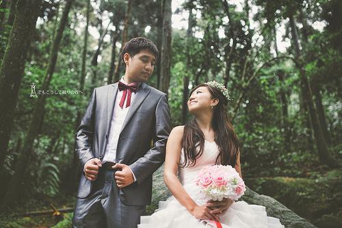 Hochzeit - [Hochzeits-] Wald