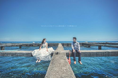 Wedding - [Wedding] Above The Ocean