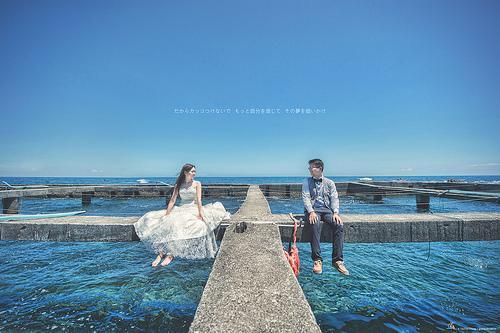 Wedding - [Wedding] Above The Ocean