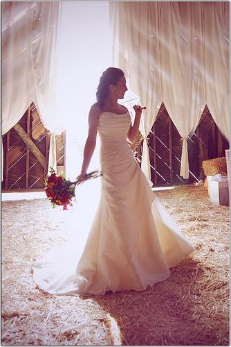 Wedding - She Lights Up His Life