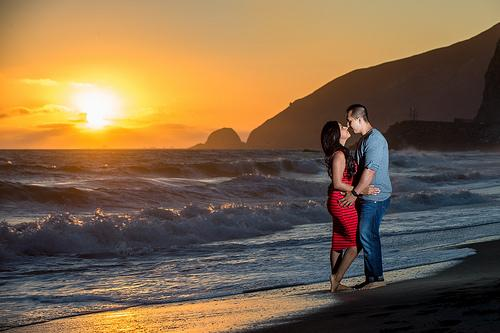 Wedding - Another Beach Engagement