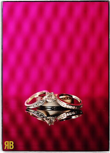 Wedding - Pink-Y Rings