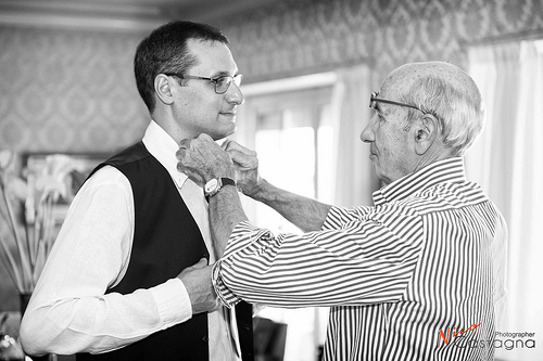 Wedding - Gianluca And His Father