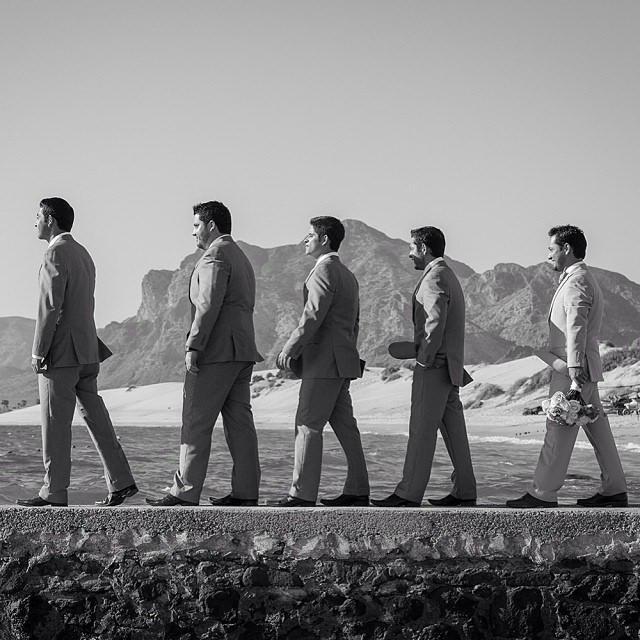 Wedding - Groom & Groom's Men :)