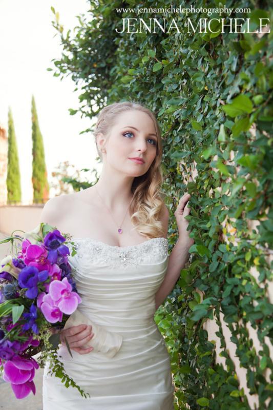 Wedding - Rustic Tuscany Bella Collina Wedding In Radiant Orchid