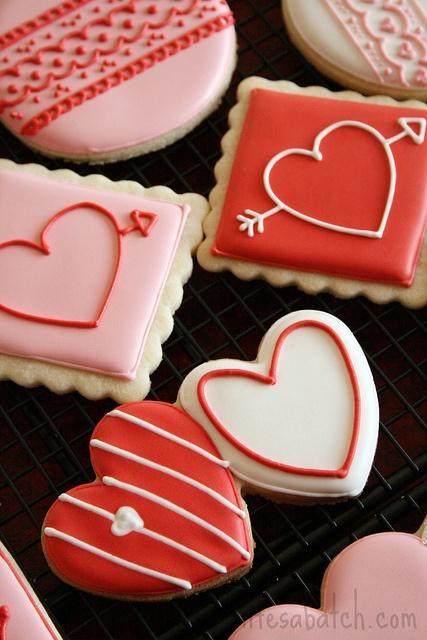 Cookie Decorating Ideas   Wedding, Love, Valentines, Etc.