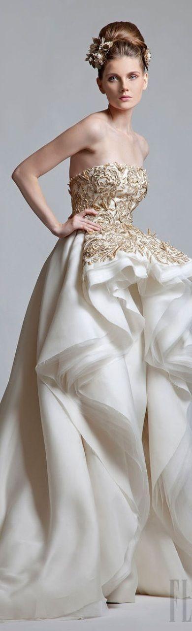 Mariage - Krikor Jabotian Couture 2013 ~