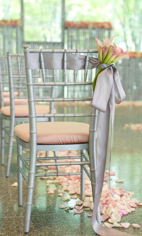 Mariage - Tablescape ● Chair Decor