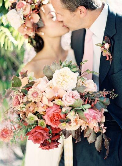 Garden Wedding Luscious Garden Bouquet 2027074 Weddbook