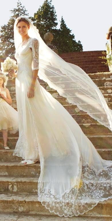 Classic Alice Temperley Wedding Gown