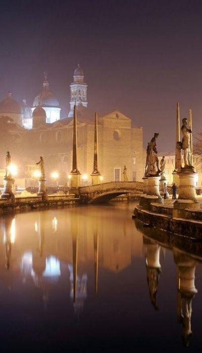 Свадьба - Piazza Prato Della Valle - Padova