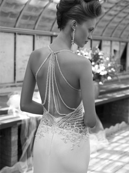 Elegant Wedding Dress Open Back : Wedding dresses open back dress weddbook