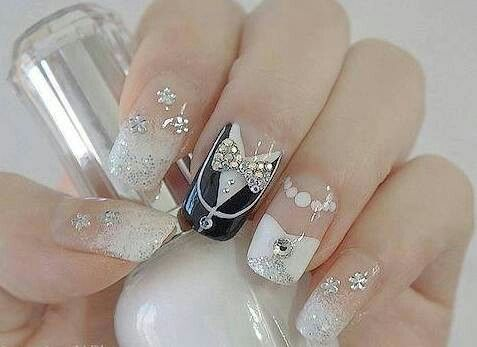 Hochzeits-Nail Designs - Bride And Groom Wedding Nail Art #2028048 ...