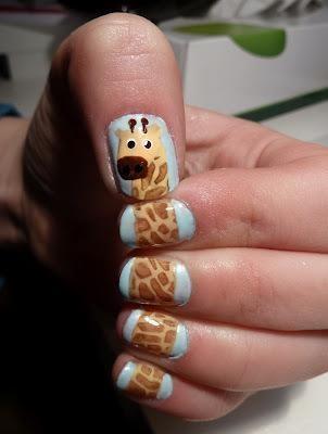 زفاف - Giraffe Nails