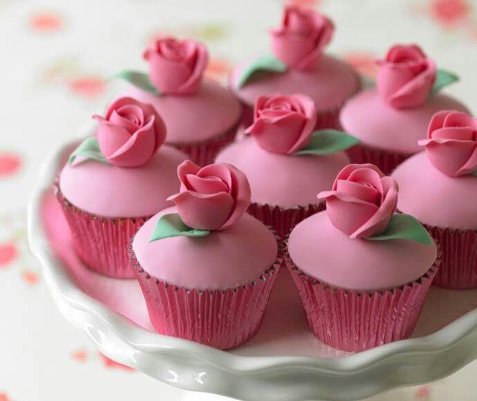 زفاف - Rosebud Cupcakes