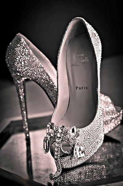 Wedding - Designer wedding shoes by Christian Louboutin
