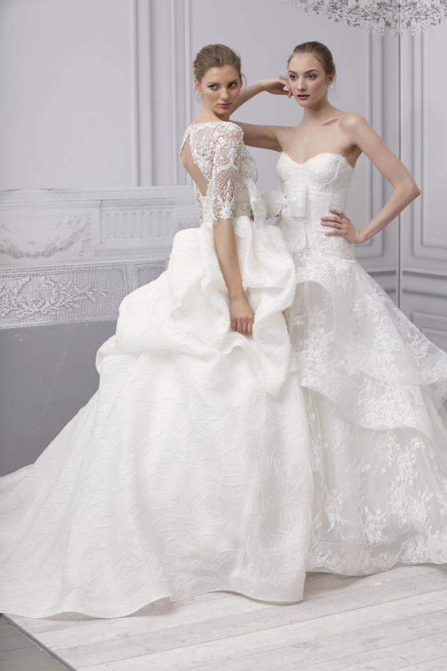Monique Lhuillier - Exquisite And Colossal Wedding Gowns #2039867 ...