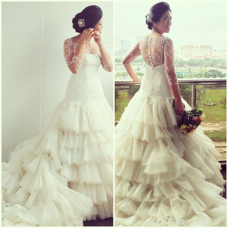 Dress - Gorgeous Wedding Gown By Veluz Reyes #2039892 - Weddbook