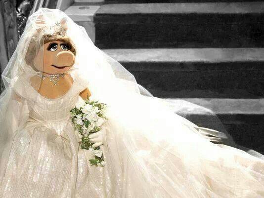 Wedding - Miss Piggy.