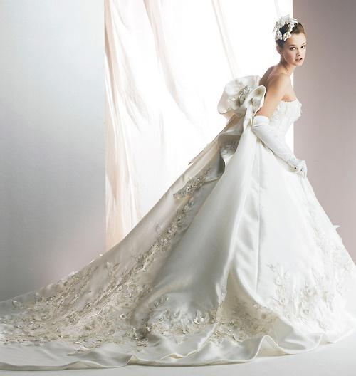 Wedding - Fairytale satin wedding dress by Yumi Katsura