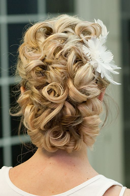 Updo Hair Model - Curly Updo //// Photo By Giao Nguyen #2046617 - Weddbook