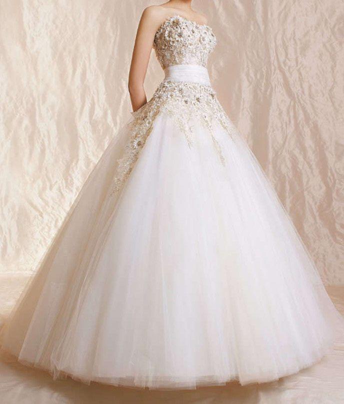 Wedding - 2014 White/ivory Wedding Dress Bridal Custom Size2-4-6-8-10-12-14-16-18-20-22