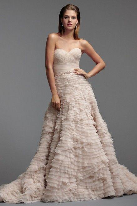 2014 NUEVO Precioso Vestido De Novia Vestido De Novia Tamaño 4 6 8 ...