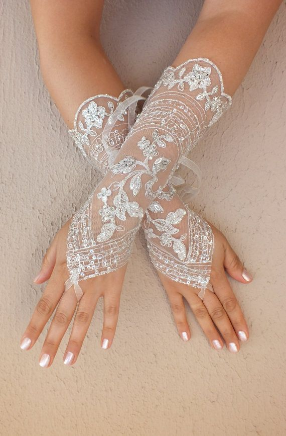 Long glove elegant lace glove by worldofgloves 2055048 for Wedding dress with long gloves