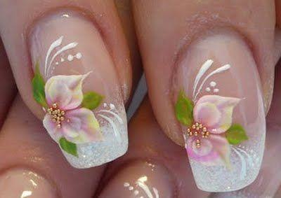 Свадьба - Свадебный Дизайн Ногтей