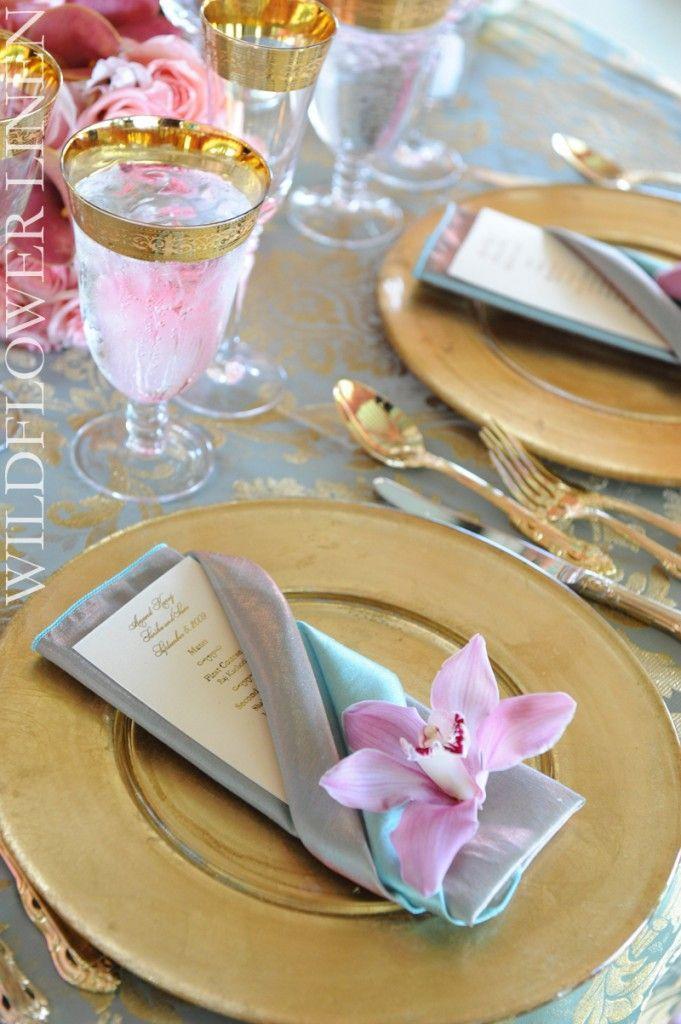 Hochzeit - Servietten falten