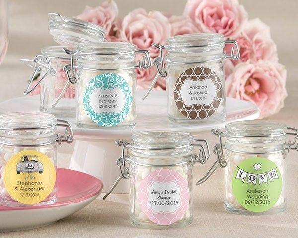 Wedding - Jar bridal wedding favors