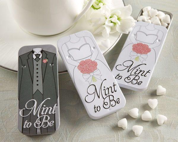 Wedding - lovely bride and groom wedding favor