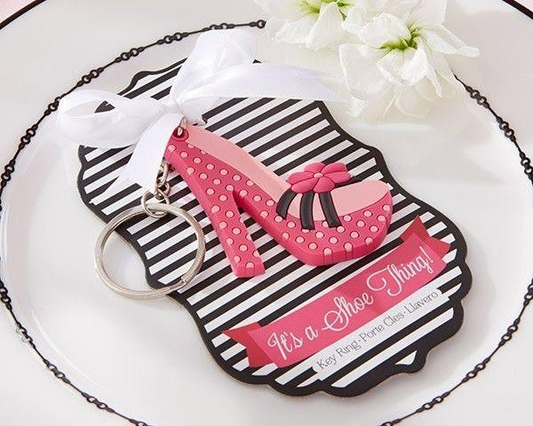 details about its a shoe thing high heel shoe keychain bridal shower wedding favor