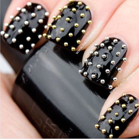 Caviar Beads Stud Rhinestone Fushion Nail Art Diy Decoration Usa