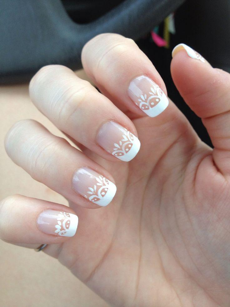 Very Best White French Wedding Nails 736 x 981 · 55 kB · jpeg