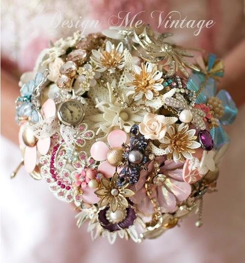 Brooch Bouquets - Wedding Brooch Bouquets #2065925 - Weddbook