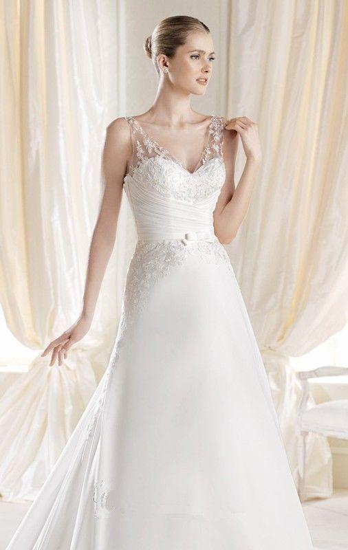 Beautiful ivory wedding dresses hot girls wallpaper for Beautiful ivory wedding dresses